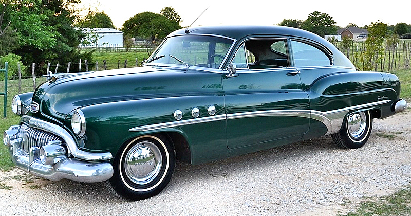 1951 Buick Super Tourback Coupe Model 56s 35k Original