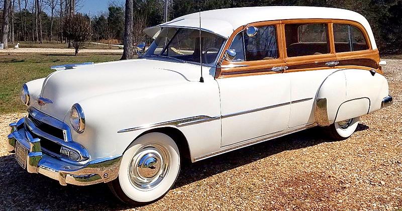 1951 Chevrolet Deluxe Styleline Station Wagon