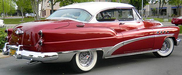 1953 Buick Roadmaster 2 Door Riviera Hardtop Factory Air