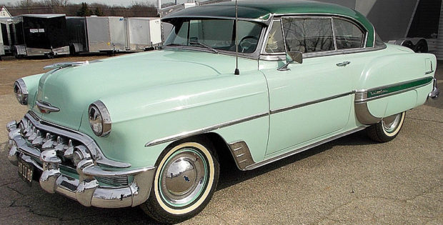 1953 Chevrolet Bel Air Sport Coupe