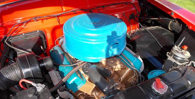 1956 Mercury Montclair 2 Door Hardtop Coupe With Merc O