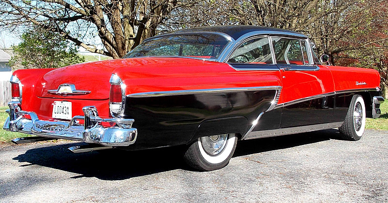 1956 Mercury Montclair 2-door Hardtop Coupe - with Merc-O ...