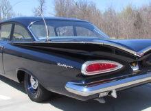 1959 Chevrolet Biscayne Duntov V8 Patrol Car