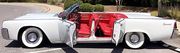 1962 lincoln continental convertible with just 16 000 miles on the clock. Black Bedroom Furniture Sets. Home Design Ideas