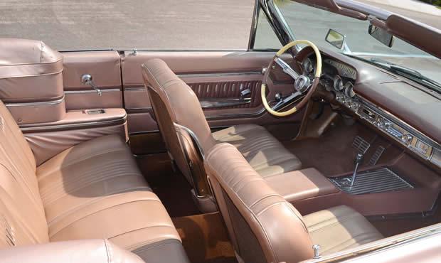 1963 Mercury Monterey S 55 Convertible In Pink Frost