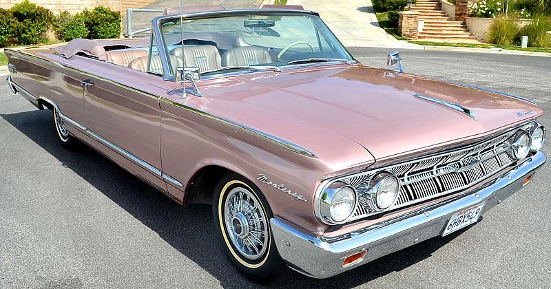 1963 Mercury Monterey S-55 Convertible