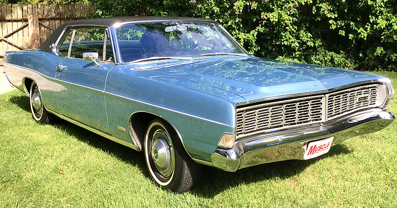 1968 Ford Ltd 2 Door Hardtop 428 V8 With Only 3 000 Miles