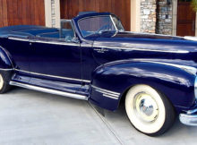 1947 Hudson Super Six Brougham Convertible