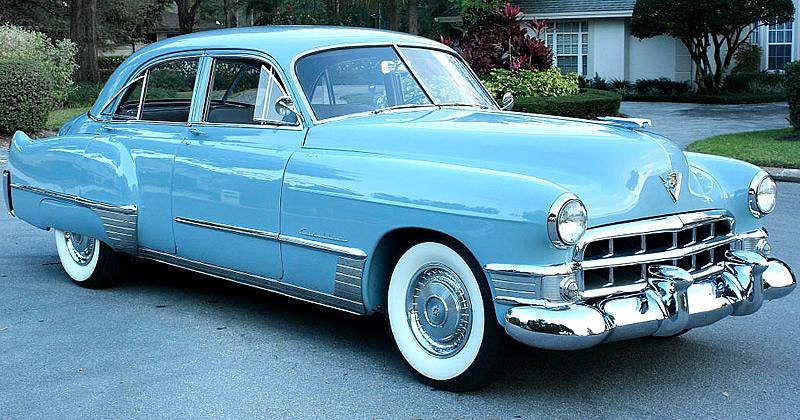 1949 Cadillac Series 62 Sedan - 71,000 actual miles