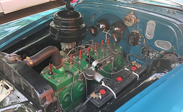 1951 Silver Streak Eight Engine