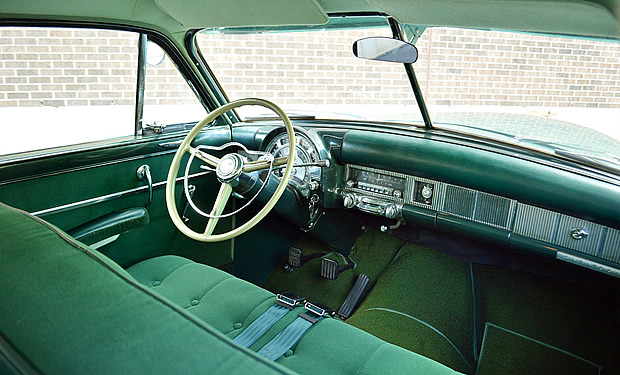 1952 Chrysler Saratoga Interior