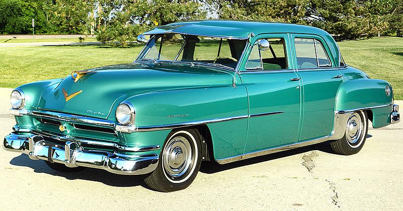 1952 Chrysler Saratoga Sedan 54 000 Miles Stunning Restoration