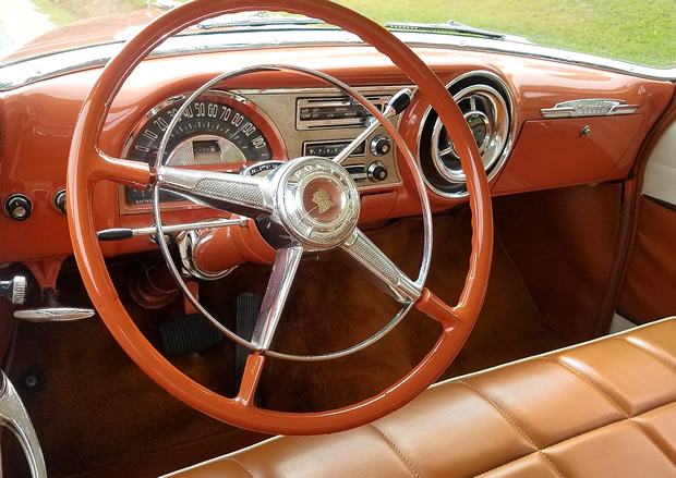 1954 Pontiac Chieftain Dash