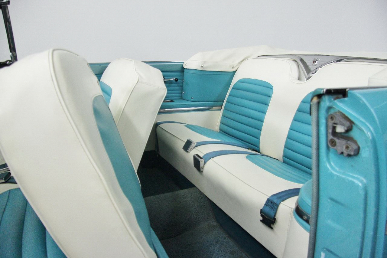 1955 Ford Fairlane Sunliner Seats