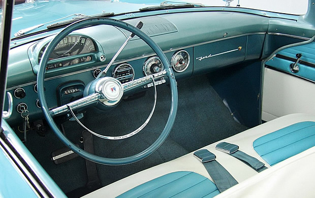 1955 Ford Sunliner Dash / instruments