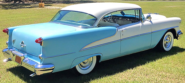 1955 Oldsmobile Super 88 Coupe Rear view