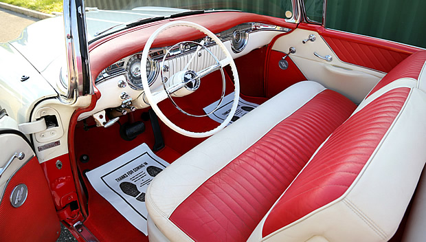 1955 Oldsmobile Super 88 Convertible Interior