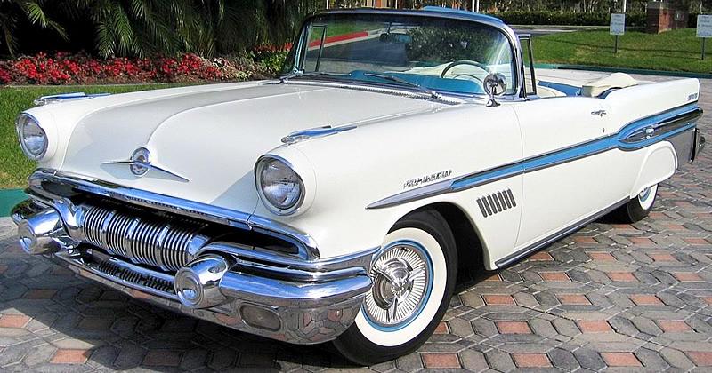 1957 Pontiac Bonneville Convertible 45 000 Miles And