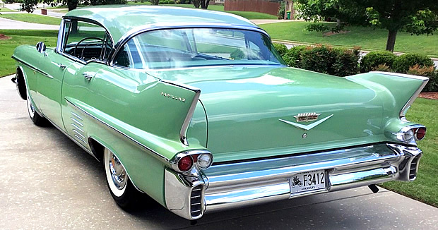 1958 Cadillac 4-door Hardtop - rear view