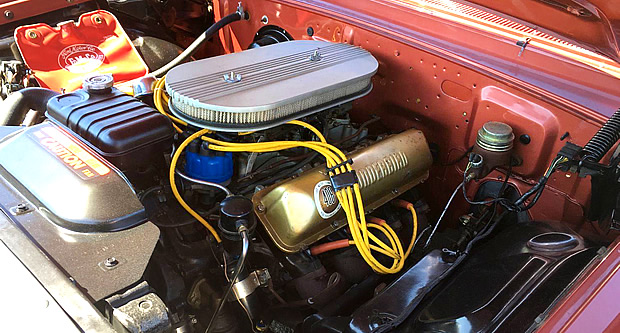 1962 Ford 406 V8 3x2 barrel carbs