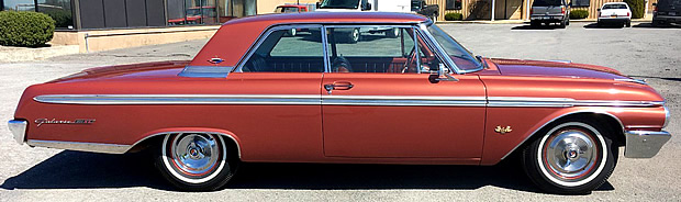 1962 Ford Galaxie 500XL - side view