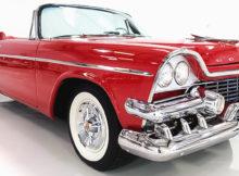 1958 Dodge Coronet Lancer Convertible with Super D-500