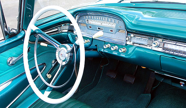 Ford Paint Colors >> 1959 Ford Galaxie Sunliner in Colonial White over Indian Turquoise