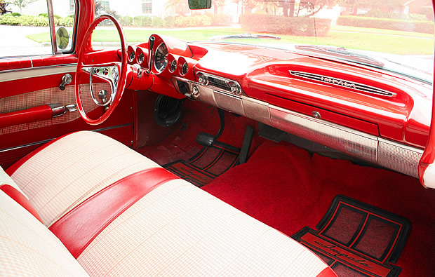 1960 Chevrolet Impala Convertible With Tri Power 348 Special Turbo Thrust