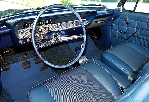 1962 Chevrolet Impala Sport Coupe 409 V8 In Nassau Blue