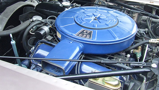 1966 Lincoln 462 engine