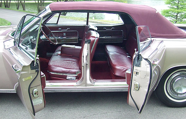1966 Lincoln Continental Convertible Suicide Doors