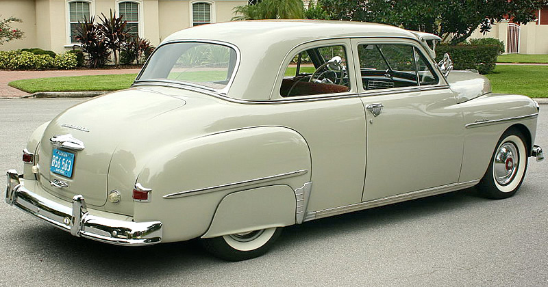 1950 Plymouth Special Deluxe Club Coupe - rear view