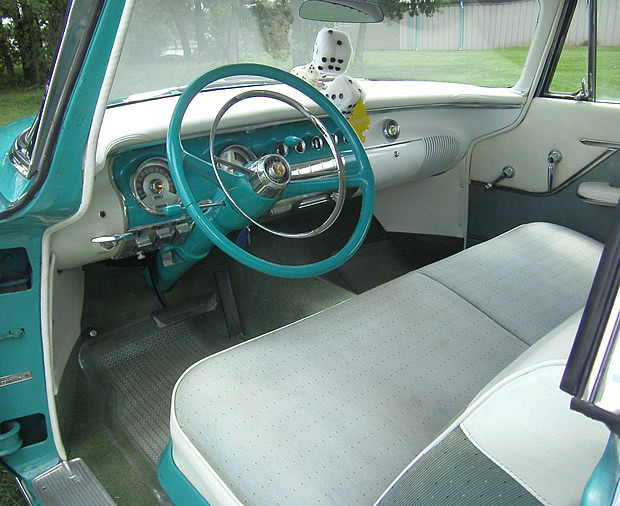 1955 Chrysler Windsor Interior