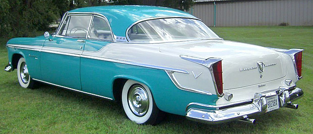 1955 Chrysler Windsor Deluxe - Rear view
