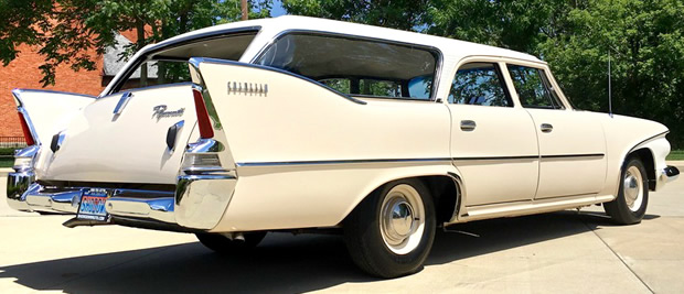 1960 Plymouth Suburban Rear
