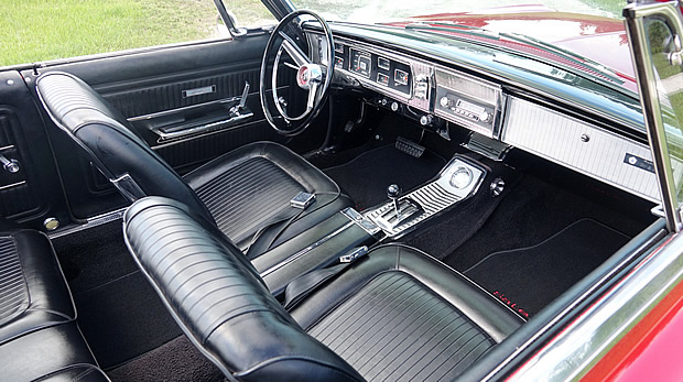 1965 Plymouth Satellite Convertible interior