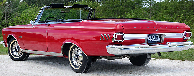 1965 Plymouth Belvedere Satellite Convertible