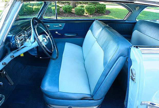 1953 Chevy Bel Air Interior