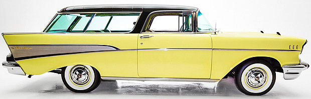 1957 Chevy Nomad Side View