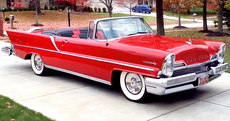 1957 lincoln premiere convertible video walkaround. Black Bedroom Furniture Sets. Home Design Ideas