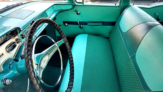 1958 Chevrolet Brookwood Interior