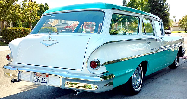 1958 Chevrolet Brookwood Rear View