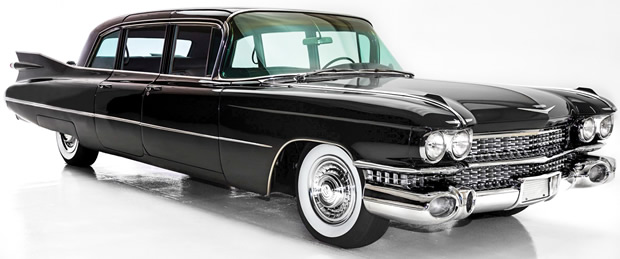 1959 Cadillac Series 75 Limo - Over 20 feet of luxury!