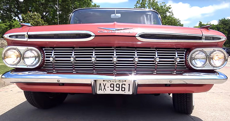 1959 Chevrolet Biscayne 4 door sedan