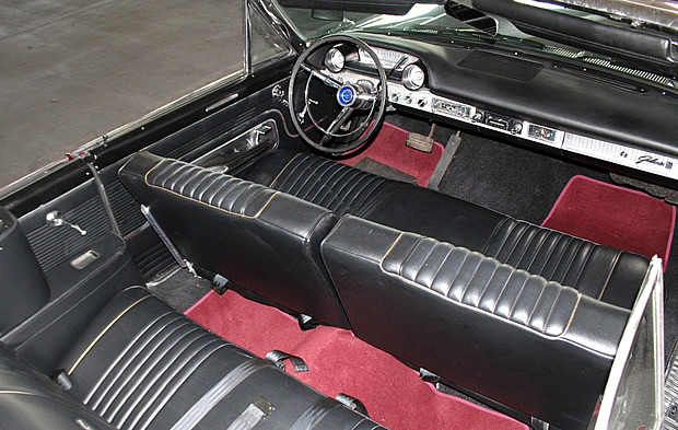 1963 Ford Galaxie 500 Convertible Heritage Burgandy