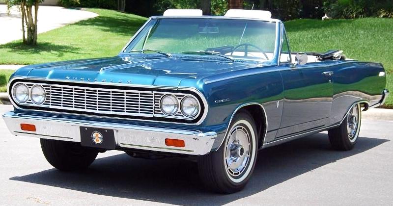 1964 Chevrolet Chevelle Malibu Ss Convertible 283 Turbo