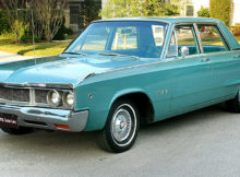 1968 Dodge Polara 4-door sedan