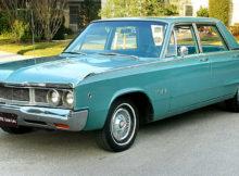 1968 Dodge Polara 4-door sedan