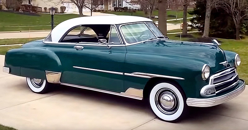 Chevrolet Styleline Deluxe on 1957 Chevy 235 Engine