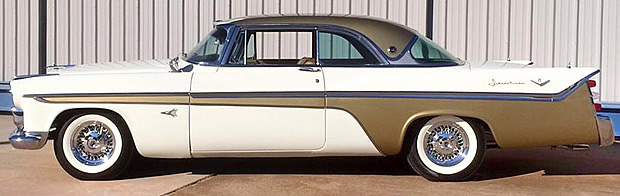 56 Desoto Adventurer - Side view